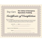 Day-Care Staff Certificate