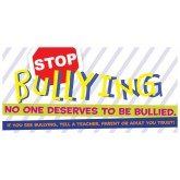 """Stop Bullying"" Banner"