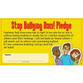 """Stop Bullying"" Pledge Card"