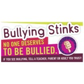 """Bullying Stinks"" Banner"