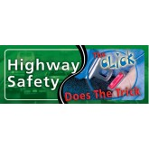 """""""Highway Safety: The Click Does the Trick"""" Pamphlet"""