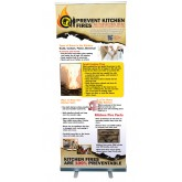 Prevent Kitchen Fires Presentation Display
