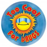 Too Cool For Drugs Stickers