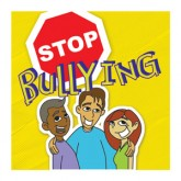 """Stop Bullying"" Removable Tattoo"
