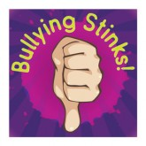 """Bullying Stinks"" Removable Tattoo"
