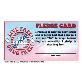 Live Free! Drug Free! Pledge Card