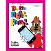 """Red's-In An Emergency...Do the Right Thing"" Activity Book"