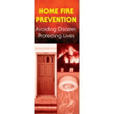 """Home Fire Prevention: Avoiding Disaster, Protecting Lives"" Pamphlet"