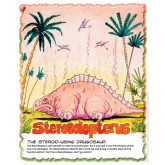 Drugosaurs! Steroidopterus Laminated Poster