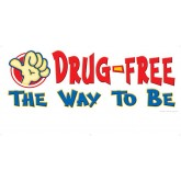 Count On Me To Be Drug-Free Banner