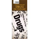 Street Smart Drug Dictionary Pamphlet