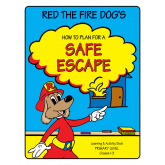"""""""Red's-How to Plan for a Safe Escape"""" Activity Book"""