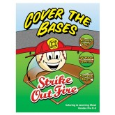 """Cover the Bases: Strike Out Fire!"" Activity Sheet"