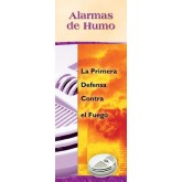 """""""Smoke Alarms: First Defense Against Fire"""" Pamphlet     SPANISH Version"""