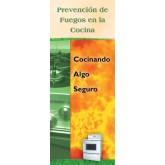 """Kitchen Fire Prevention: Cook Up Something Safe"" Pamphlet     SPANISH Version"