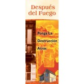 """""""After a Fire: Put the Destruction Behind You"""" Pamphlet     SPANISH Version"""
