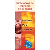 """Home Fire Drills: Practice for Survival"" Pamphlet     SPANISH Version"