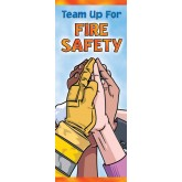"""Team Up for Fire Safety"" Pamphlet"