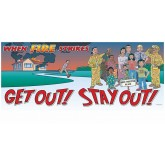 """Get Out! Stay Out!"" Banner"