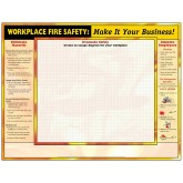 Workplace Emergency Action Planning Grid Poster