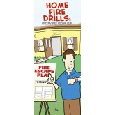 """Home Fire Drills: Practice Your Escape Plan"" Pamphlet"