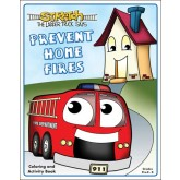 """""""Stretch's-Prevent Home Fires"""" Activity Book"""