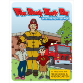 """Fire Ready Every Day with Firefighter Ace"" Activity Book PreK-K"