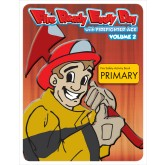 """Fire Ready Every Day with Firefighter Ace Volume 2"" Activity Book Primary"
