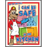 """Red's-I Can Be Safe in the Kitchen"" Activity Book"