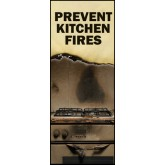 """Prevent Kitchen Fires"" Pamphlet"