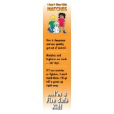 """I Don't Play with Matches"" Bookmark"