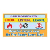 """""""Fire Ready Every Day with Firefighter Ace"""" Pledge Card"""