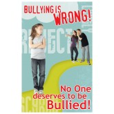 Bullying is...Wrong Laminated Poster