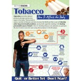 Tobacco: How it Affects the Body Wall Display