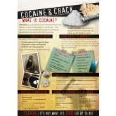 In the Know: Cocaine and Crack Wall Display