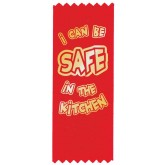 """I Can Be Safe in the Kitchen"" Red Ribbon"