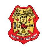Junior Firefighter Sticker Badge-PERSONALIZED